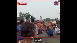 विधायक अंबा प्रसाद की दबंगई, NTPC...