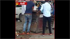 गोविंदपुरी : गुरु रविदास मार्ग पर MCD...