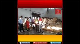 Motihari:FCI गोदाम की DM ने की जांच,...