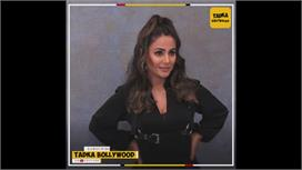 Action Mode में Hina Khan,, All Black...