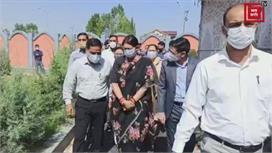 केंद्रीय मंत्री स्मृति ईरानी ने किया...