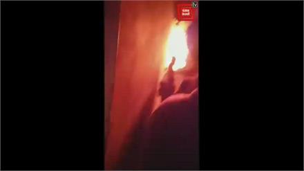 ऊना के घालूवाल में भयंकर आगज़नी, बड़े नुकसान की आशंका, Wait For More Detail