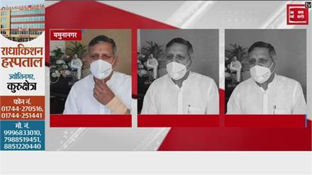 हिसार में हुए CM के विरोध पर बोले शिक्षामंत्री - पथराव तो किसानों ने पुलिसकर्मियों पर किया था