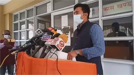 कांगड़ा में कोरोना कर्फ्यू को लेकर डीसी कांगड़ा राकेश कुमार प्रजापति धर्मशाला से Live