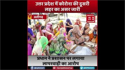 अलीगढ़ में पिछले 24 घंटे में कोरोना से 5 की मौत